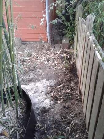 Bamboeborder-achterpad-hoek